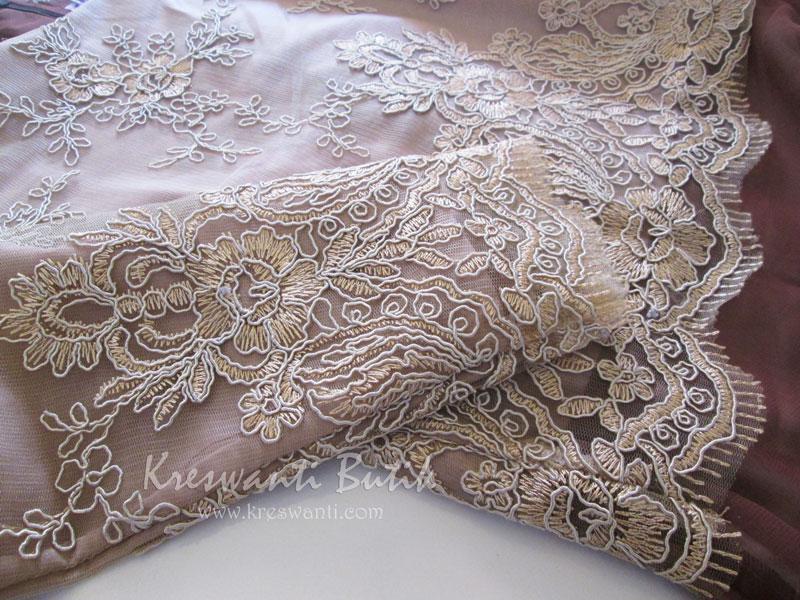 jual baju gamis modis gaun pesta pengantin muslimah modern brown5
