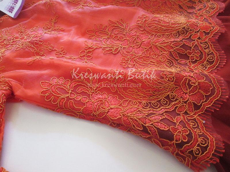 jual baju gamis modis gaun pesta pengantin muslimah modern orange3