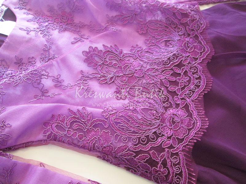jual baju gamis modis gaun pesta pengantin muslimah modern violet5