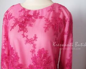 jual baju gamis pesta modern gaun pesta pengantin muslimah modern modis tampak samping kiri