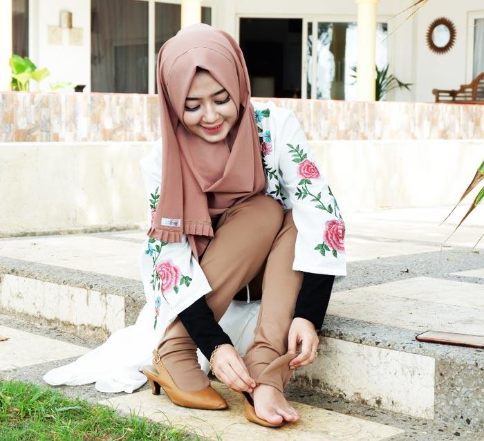 legging wudhu khusus wanita muslimah