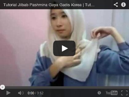 mengintip kreasi jilbab cantik model korea