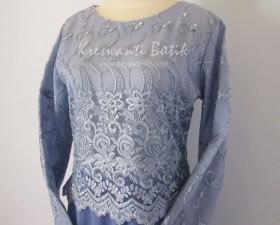 jual baju gamis femina gaun pesta pengantin muslimah modern biru3