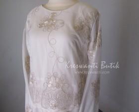 jual baju gamis femina gaun pesta pengantin muslimah modern putih3