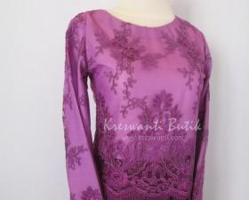 jual baju gamis modis gaun pesta pengantin muslimah modern violet3