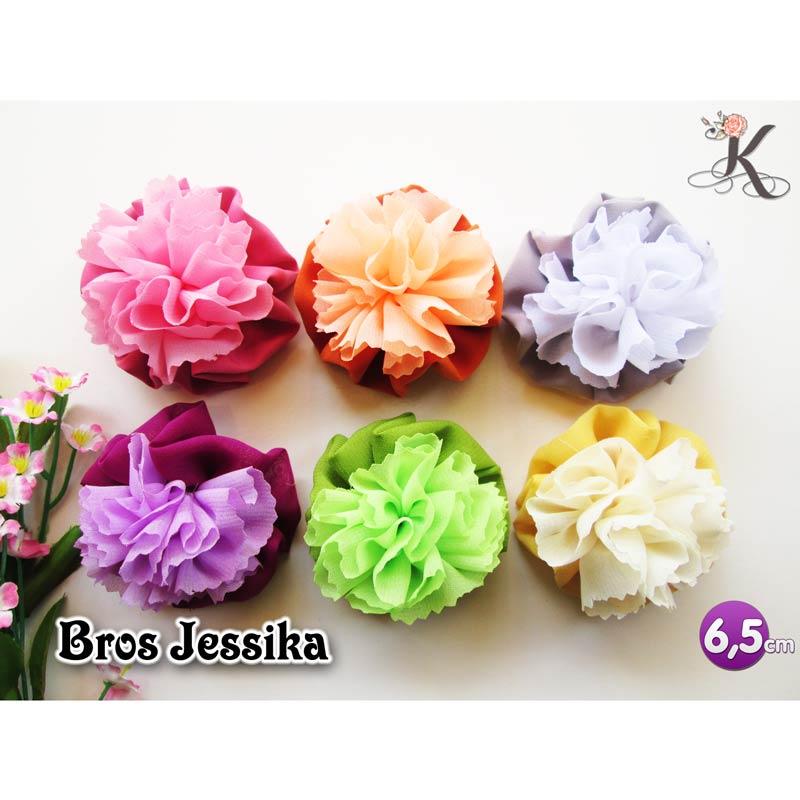 grosir bros bunga kain cantik jessika
