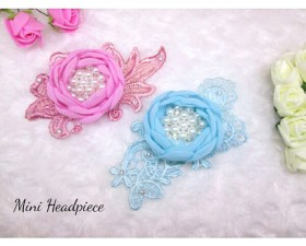 mini headpiece aksesoris headband hijab