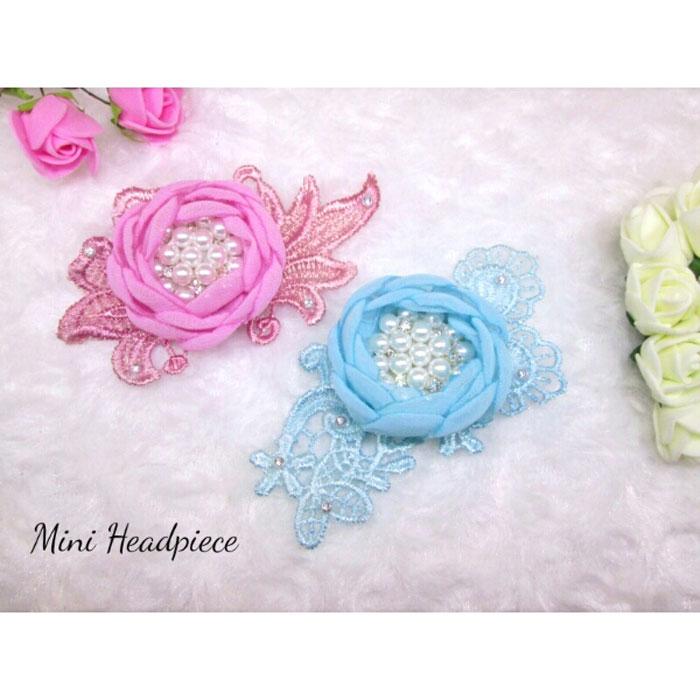 mini headpiece aksesoris headband hijab