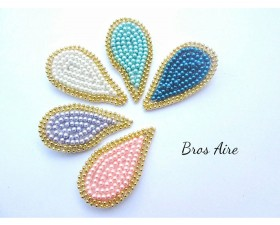 bros aire mutiara cantik simple elegan hijab