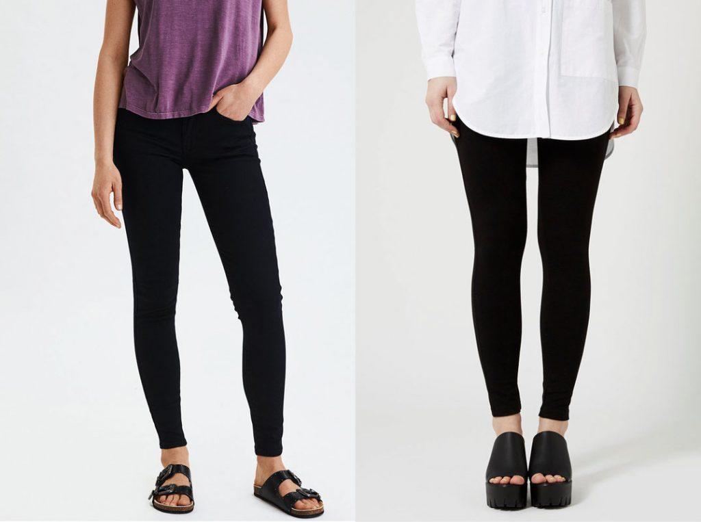 perbedaan legging dan jegging